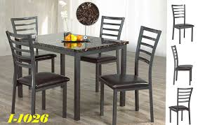 Dining Table 4 Chairs Montreal