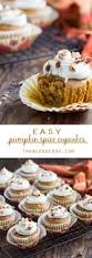 Cake Mix Pumpkin by Easy Pumpkin Spice Cupcakes The Blond Cook