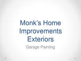 Monk s Home Improvements Garage Exterior Project