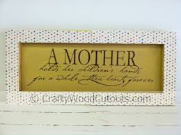 Mothers Day Unfinished Wood Craft Vinyl