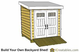 8x8 lean to shed plans front shed 8 u0027x8 u0027 pinterest plan front