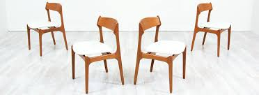 Danish Modern L.A. | Erik Buch Teak & Leather Dining Chairs ... Modern Ding Chair Tribute Collection Contemporary Danish Teak Black Leather Chairs Set Of 4 Exclusive And Marvin Midcentury Faux 2 Rosewood And Whosale Room Ideas Different Mid Century Best Ding Chairs Room Fniture Italian Mid Century Danish Modern 6 Erik Buck Rosewood Leather Emfurn Fox1705bset2 Fniture By Safavieh