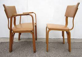 100 Birch Dining Chairs Michael Thonet Bentwood Captain Armchair And