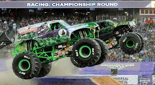 100 Monster Trucks Nashville Grave Digger