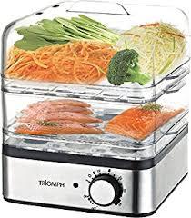 cuisiner à la vapeur jocca 5555 système de cuisson à la vapeur couleur blanc et bleu