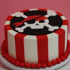 Pirate Theme Cake for Kids