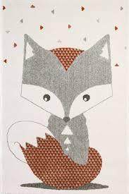 tapis chambre d enfant tapis chambre de bébé renard