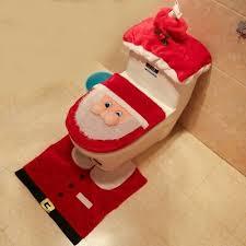 sonstige weihnachtsdekorationen weihnachtsdeko badezimmer wc