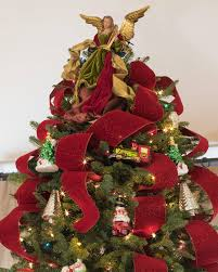 3 Fiber Optic Tabletop Christmas Tree by 100 Christmas Tree Angel Toppers Roy Williams Angel Tree