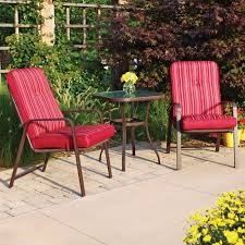 Walmart Patio Furniture Chair Cushions by 2 Chairs And Table Patio Set Patio Furniture Ideas
