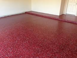Rust Oleum Epoxyshield Garage Floor Coating Tan by Commercial Entry Floor With Metallic Epoxy This Floor Is With