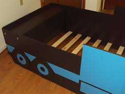 100 Dump Truck Toddler Bed Custom SemiTractor Twin Kids Frame Handcrafted
