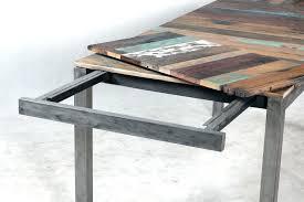 table de cuisine rallonge table cuisine industrielle table avec rallonge table chauffante