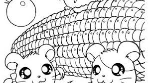 Kawaii Animal Coloring Pages Gallery