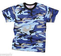 kids boys blue sky zombie skateboard camo military usmc army