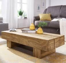 wohnling couchtisch sira massiv holz akazie 120cm breit design wohnzimmer tisch dunkel braun landhaus stil beistelltisch