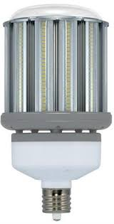 satco s9677 dlc listed 120w 4000k 12000 lumen post top or hid