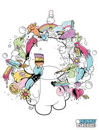 Munny World Tees Coloring Book Client Kidrobot