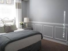 update master bedroom with two tone wainscoting little miss penny