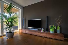 sideboard nussbaum im wohnzimmer modern wohnzimmer