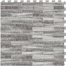 Atlantic Shell Stone Tile by Perfection Floor Tile Natural Stone Flexible Interlocking Tiles