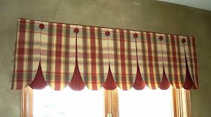 Kohls Kitchen Window Curtains by Interior Splendid Window Valance That Gallery With Red Kitchen