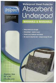 Bed Protector Walmart by Amazon Com Inspire Washable Waterproof Sheet Protector Absorbent