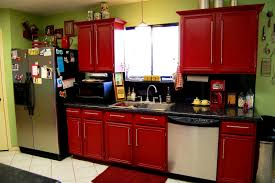 Image Of Kitchen Decorating Ideas With Red Accents