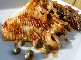 cuisiner la raie au beurre noir raie à la crème de porto et aux oignons caramélisés l atelier de boljo
