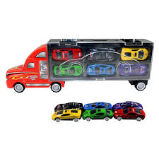 KAWO Transport Car Carrier Truck Toy For Boys Includes 12 Metal Cars ... 2000 Kenworth W900b Car Carrier Truck For Sale Auction Or Lease Toy Transport For Boys And Girls Age 3 10 Semi Matchbox Large 18 Learn Colors With Car Carrier Truck Coloring Book Super Megatoybrand Hauler Transporter 6 Cars Wvol Military Kids Includes Long 28 Slots Friction Powered 3d Free Download Of Android Version M Trailer With On Bunk Platform Empty Intended To Deliver New Auto Batches Stock