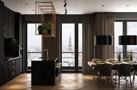 100 Apartment Design Magazine Modern Dark Interior Showcase Homes Dark
