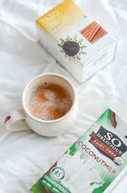 Tazo Pumpkin Spice Chai Latte Recipe by Healthy Coconut Chai Latte Recipe The Chic Life