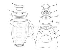 Oster Speed Blender Parts Page A Click To Close