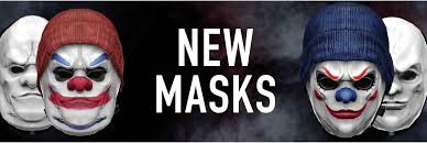 Payday 2 Halloween Masks Disappear by News All News