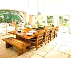 Dining Table Seat 10 Large Room Tables Seats To Oak 12