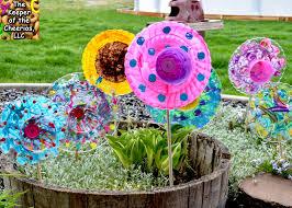 Plastic Plate Garden Flowers For Kids