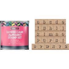 Lowercase Alphabet Stamp Tub Hobbycraft