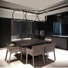 altavola design pendelleuchte led ring no 8 schwarz