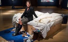 Tracey Emin My Bed by Tracey Emin U0027s Controversial Bed Artwork Sells For 2 2m But Who