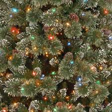 Crystal Elegance Pine Dual Color LED PowerConnect Pre Lit Artificial Christmas Tree