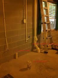 Basement Bathroom Ejector Pump Floor by Venting Basement Bathroom Plumbing Diy Home Improvement