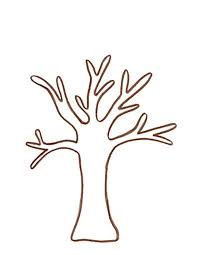 Coloring Pages Leafless Tree Outline RTnKydbxc Coloring Pages