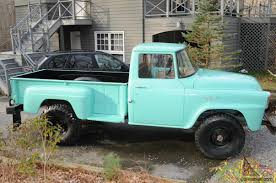 1957 International Harvester 4X-A120 Step Side Pick Up Truck 1 Ton 4 ...