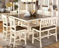 Two Tone Dining Room Set Tables Photo Of Nifty Toned