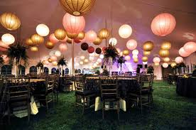1 Round Paper Lantern On Wedding Ceremony 11