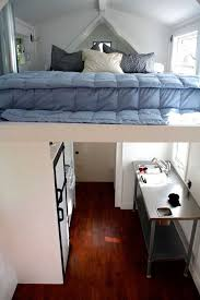 Tiny Houses Modern Mobile House Small Bedroom Kitchen Design