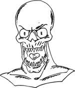 Scary Monsters Coloring Pages