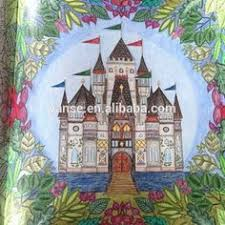 Enchanted Forest Coloring Book Colored