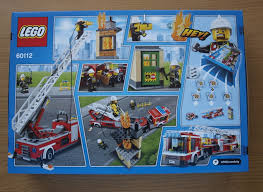 Lego City Fire Engine - 60112 | EBay