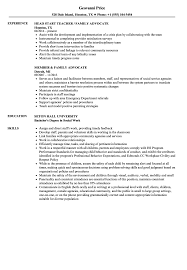 Download Family Advocate Resume Sample As Image File
